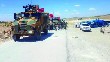 دوريات أميركية – تركية على خط التماس في منبج