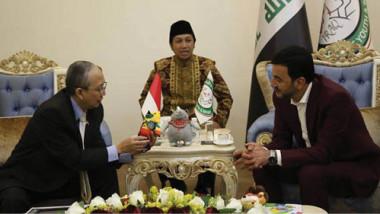 عبطان يؤكد للسفير الأندونيسي دعم العراق  لدورة الألعاب الآسيوية في جاكارتا