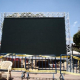 نصب شاشة عملاقة في كربلاء لمشاهدة مباريات المونديال