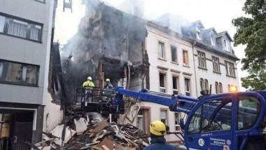 25 جريحاً بانفجار دمّر مبنى في ألمانيا
