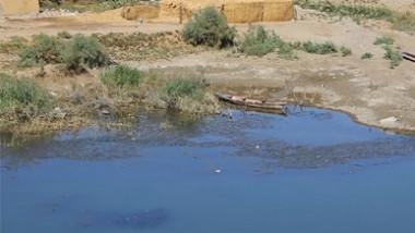 اطلاق كميات جديدة من المياه في نهر بالمثنى