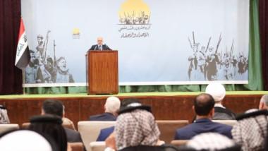 العبادي: لا حق لأحد تضييع إنجاز النصر وسنقتل الارهابيين في جحورهم