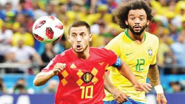 أندريس يقود مواجهة فرنسا وبلجيكا بنصف النهائي اليوم
