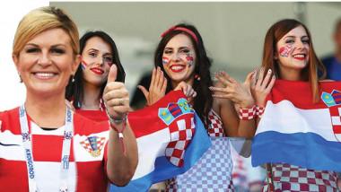 الاحتفاء بالنجاحات الرياضية.. رئيسة كرواتيا أنموذجا