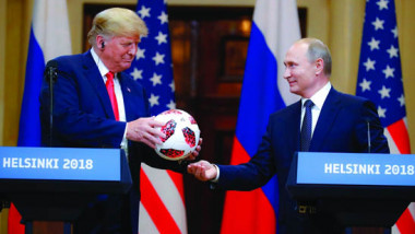 ترامب وبوتين يتوافقان على قضايا ملغومة وقابلة للانفجار في أية لحظة