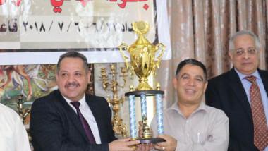 حسين علي حسين يتوج بلقب بطولة العراق للمتقدمين بالشطرنج