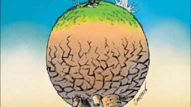 موارد المياه عن موقع «كارتون سياسي»
