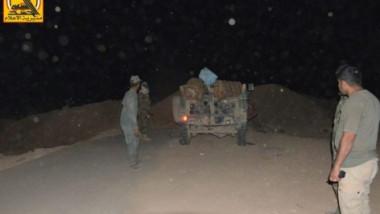 إحباط تعرض داعشي على بلد وقتل أربعة انتحاريين
