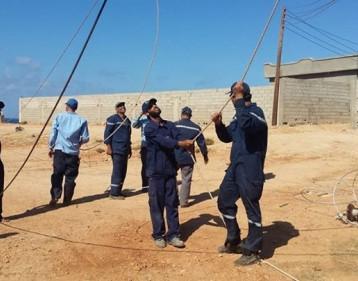 مسلحون يهاجمون فريقاً لصيانة الكهرباء شرقي بغداد