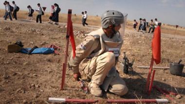 ألمانيا تدعم جهود العراق للتدريب على إزالة الألغام في المناطق المحررة