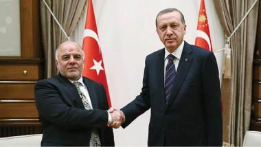 العبادي يتعهد بالوقوف إلى جانب تركيا  وأردوغان يطمئن العراقيين بحصة مياه كاملة