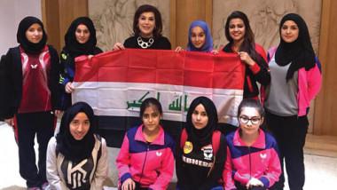 العراق يحقق نتائج كبيرة في بطولة غربي آسيا بكرة الطاولة
