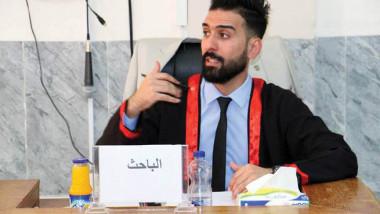 الماجسيتر لمدرب السلة إبراهيم جليل