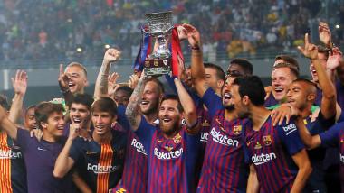 برشلونة بطلا لكأس السوبر