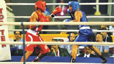 جعفر عبد الرضا يلاقي الأندونيسي  سونام اليوم في ربع نهائي الملاكمة