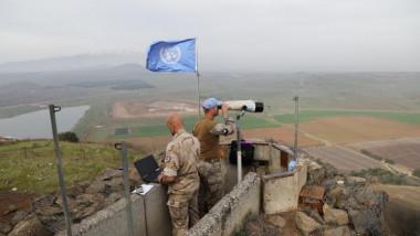 قوات حفظ السلام تعود إلى الجولان