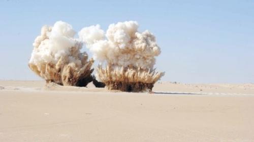 تفجير كدس للعتاد مخبأ في خزان حديدي كبير جنوبي الرطبة – جريدة الصباح الجديد