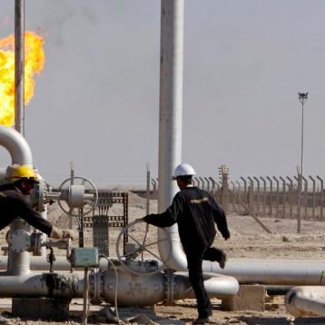 إنجاز 90 % من مشروع استثمار الغاز المصاحب بحقل الناصرية