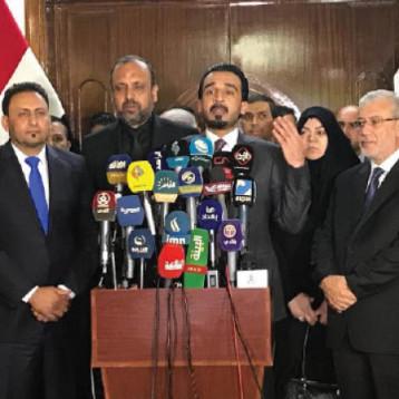 """الإصلاح: إعادة انتخاب رئيس البرلمان أمر وارد والحلبوسي يصف المعترضين عليه بـ""""المتضررين """""""