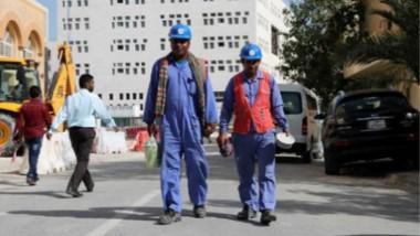 الحظر على قطر وتأثيره على العمال الوافدين