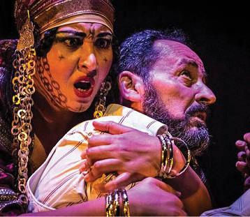 الفنانة التونسية قيسالة نفطي: اجعلوا المسرح استراتيجية للحياة