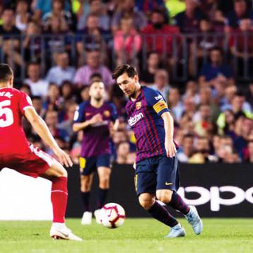 جيرونا يوقف سلسلة انتصارات برشلونة.. وفالفيردي: لينجليت لا يستحق الطرد