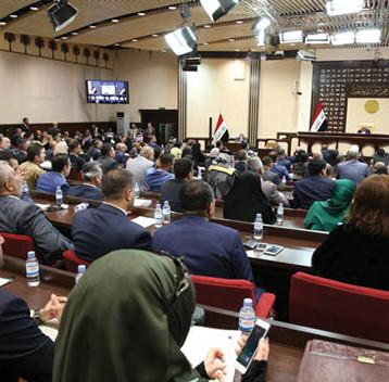 سائرون يطالب بإقالة الفائزين بعضوية المجلس  لتخلفهم عن أداء اليمين من بينهم نوري المالكي