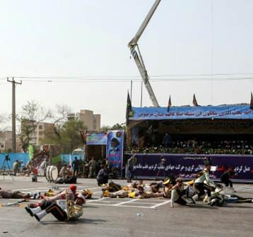 مقتل 11 عسكري إيراني  في الأهواز بإيران