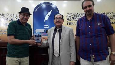 نادي السرد يحتفي بالسارد خضير الزيدي