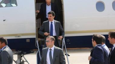 بارزاني يلتقي الصدر في النجف ويبحثان تشكيل الحكومة
