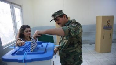 غلق مراكز الإقتراع الخاص في اقليم كردستان