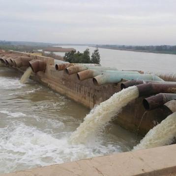 «الموارد المائية» تجهّز محطة البصرة  بـ7/3م ثانية من الماء الخام