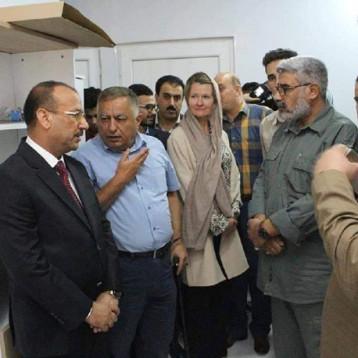 افتتاح مركز لخدمة مبتوري الأطراف لمساعدة 4500 معوق في الموصل