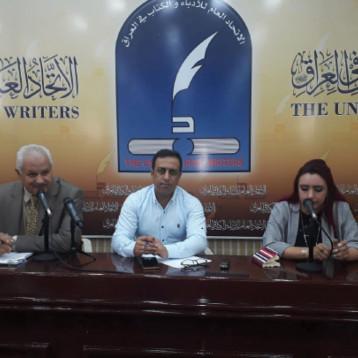 الشاعرة علياء المالكي والشاعر منذر عبد الحر وحديث عن الشعر في الصحافة