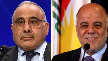 العبادي يهنيء عبد المهدي والأخير: نحتاج دعمكم ومشورتكم لتعزيز أمن البلاد