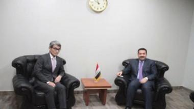 العراق يبحث مع اليابان آفاق التعاون الصناعي المشترك