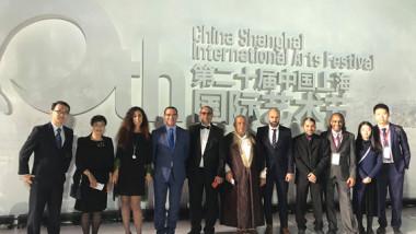 العراق ينوب عن الدول العربية  في مهرجان شنغهاي الدولي للفنون