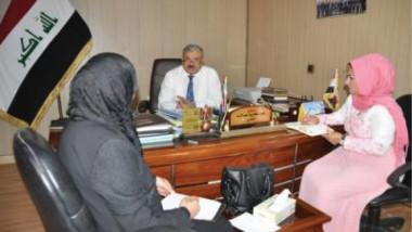 العمل وجامعة بغداد تبحثان دعم المرأة في مواجهة العنف الممارس ضدها