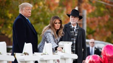 ترامب يصل بيتسبرج مع تأبين  ضحايا هجوم المعبد اليهودي