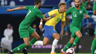تيتي: لاعبو السعودية لم يخشوا مواجهة البرازيل