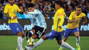 جدة تحتضن اليوم ثاني مواجهة  عربية بين البرازيل والأرجنتين