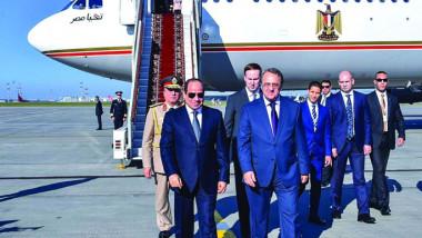 روسيا توقّع اتفاقا للشراكة الشاملة والتعاون الاستراتيجي مع مصر
