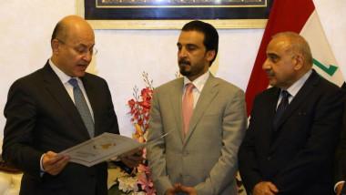 خبراء: انتخاب صالح وتكليف عبد المهدي حدثا ضمن المواقيت الدستورية