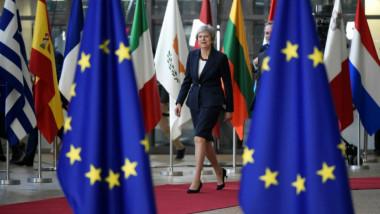 ماي تؤكد معارضة الحل الأوروبي لمشكلة الحدود الإيرلندية بعد بريكست