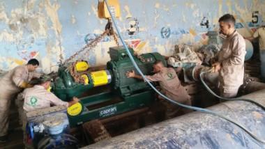 وزيرة الإعمار توجّه الشركات العاملة على تنفيذ مشروع الماء الكبير بأكمله في نهاية العام الحالي