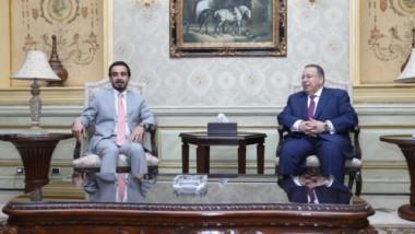 رئيس البرلمان يصل الى القاهرة
