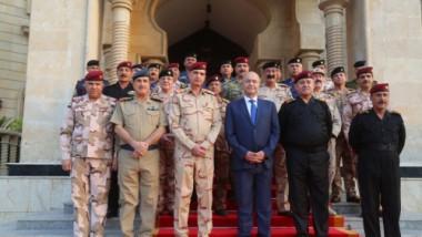 صالح يشدد على حصر السلاح بيد الدولة
