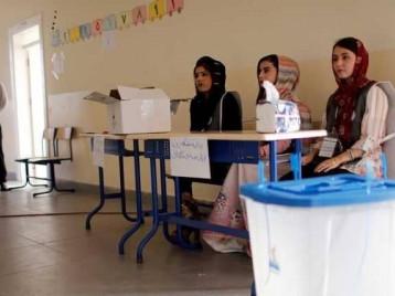 مفوضية الاقليم تعلن النتائج النهائية للانتخابات