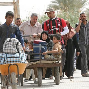 الأنبار: عودة 90% من النازحين إلى ديارهم والبقية 7 آلاف عائلة فقط