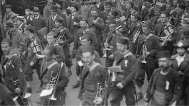 الحرب العالمية الأولى نشرت موسيقى الجاز في أوروبا